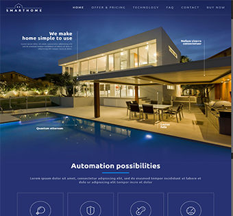 Automation Wordpress Theme