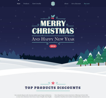 Holiday Wordpress Theme Designer